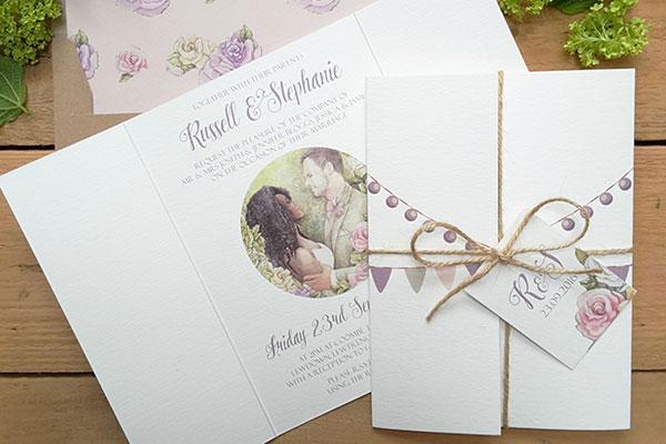 thiệp cưới tinh tế